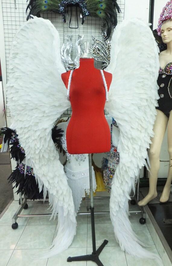 Victoria Secret feather Devil White Angel Wings