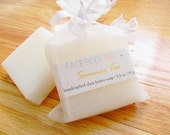 Christmas in July Sale (CIJ) Shea Butter Soap / Handcrafted Travel Bar - Summer Tea