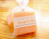 Christmas in July Sale (CIJ) Shea Butter Soap / Handcrafted Travel Bar - Grapefruit Twist