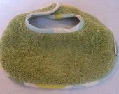 Super Absorbent Dribble Bib - Green Bailey