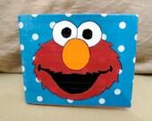 Sesame Street Elmo Duct Tape Wallet