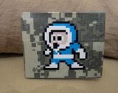 Megaman Iceman 8-bit Duct Tape Wallet