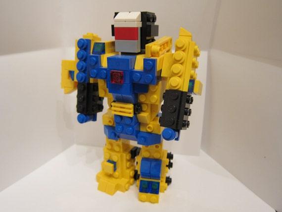 LEGO Transformers G1 Decepticon Devastator figurine