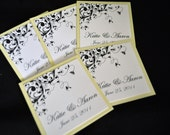 Favor tags, Welcome bag tags