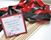 Wedding Ribbon Wands for ceremony