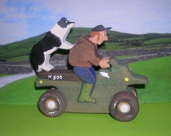 Joey the farmer / farmer on quad / farm play set