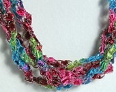 Groovy - Crocheted Necklace
