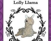 Plush Llama Toy Pattern