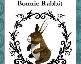 Plush Rabbit Toy Pattern
