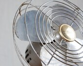 Vintage Metal Manning Bowman Fan in Working Condition