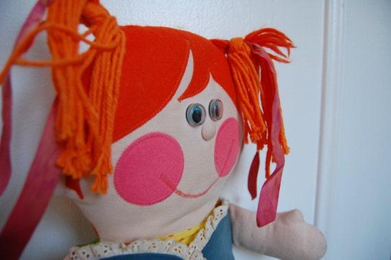Reserved for Lani Vintage Playskool Dressy Bessy Teaching Doll