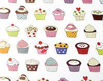 Cupcake print tissue paper