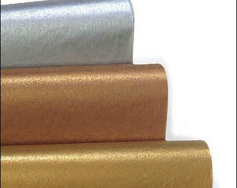 Metallic Tissue Paper - Silver or Gold