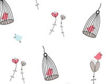 Lovebirds  Print Tissue Paper