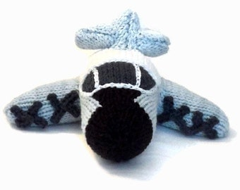Made to Order: Hand Knit P3 Orion Toy Model Plane