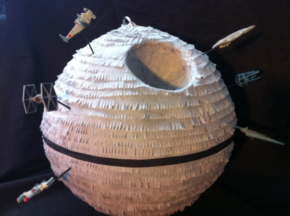Death Star Pinata with Micro Machine Space Ships