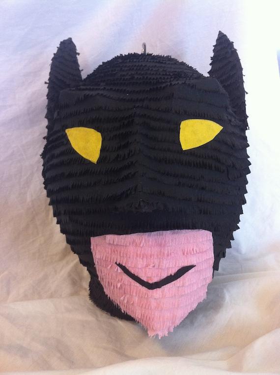 Batman Head pinata