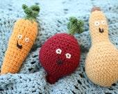 Veggie Rattle Trio