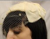 Vintage Veil Fascinator Hat