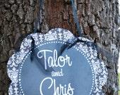 Personalized Wedding, Engagement,  Bridal Door Sign