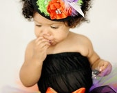Adorable and Cute Little Friendly Over The Top Mini Witch Hat by London Blue Designs