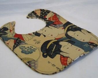 Geisha Cheetah Bib