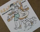 Children's Print....Fresh Cookies