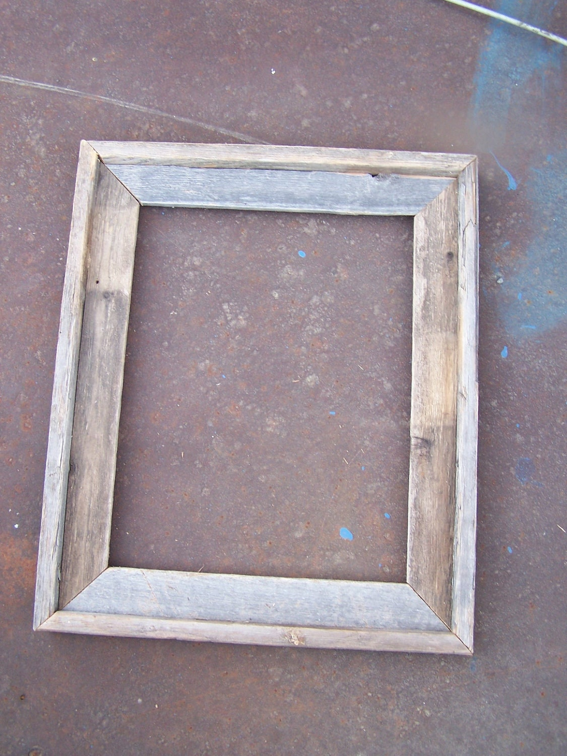 20x30 deluxe barnwood picture frame rustic weathered
