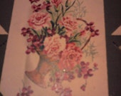 french post card flowers