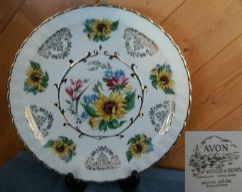 "Avon Collector Plate ""Sunflower"""