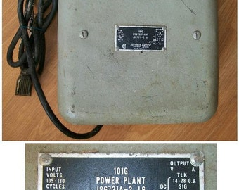 Vintage Telephone Equipment Northern Electric 101G Power Plant