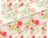 Cute Flower Ribbon Graphics 7/8 Inch  (R20)