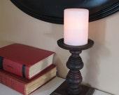 Vintage Wooden candle holder