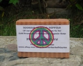 FRENCH RED CLAY Unscented  Natural and Organic Cold Processed Soap from Hoosier Herbal Hippies.