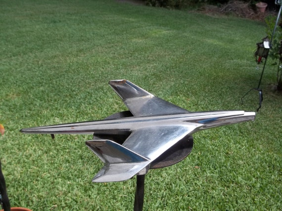 1950 S Chevy Bel Air Hood Ornament Airplane By