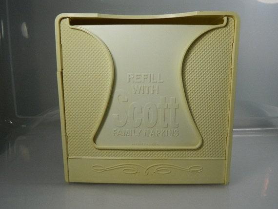 Retro Scott Napkin Holder / Dispenser Advertisement Promotional Item