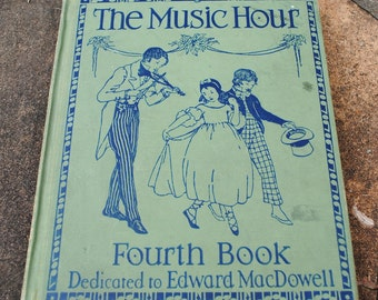The Music Hour songbook circa 1937