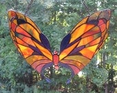 Stained Glass Emperor Butterfly