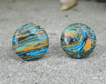 Abstract Expressionist Cufflinks