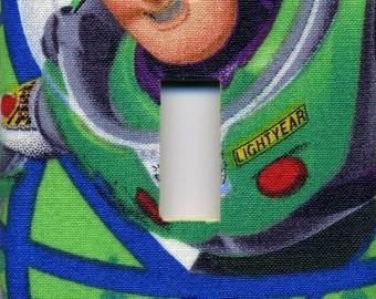 Buzz Lightyear Toy Story Single Light Switch Plate