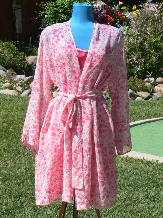 Fucica short nightgown and robe size xx large plus size