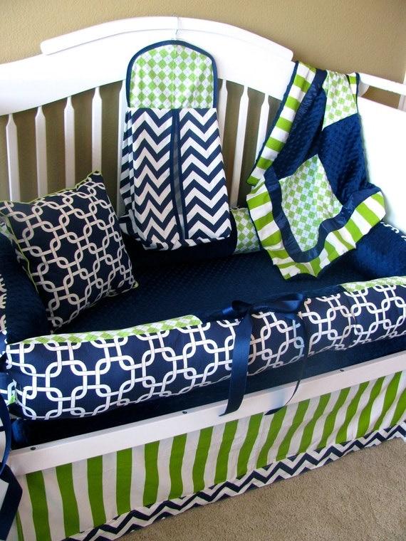 Thane Custom Baby Bedding Crib Set 6 pc set