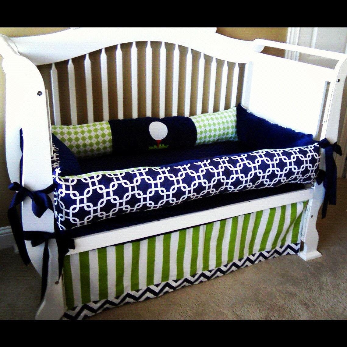 thane custom baby bedding crib set 3 pc set