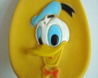Vintage Donald Duck Squeaky Toy