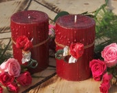LOVE PETALS. Enchanted Witchery Candle 3x4 Pillar. Pure Intoxicating Rose. Love. Love Magick
