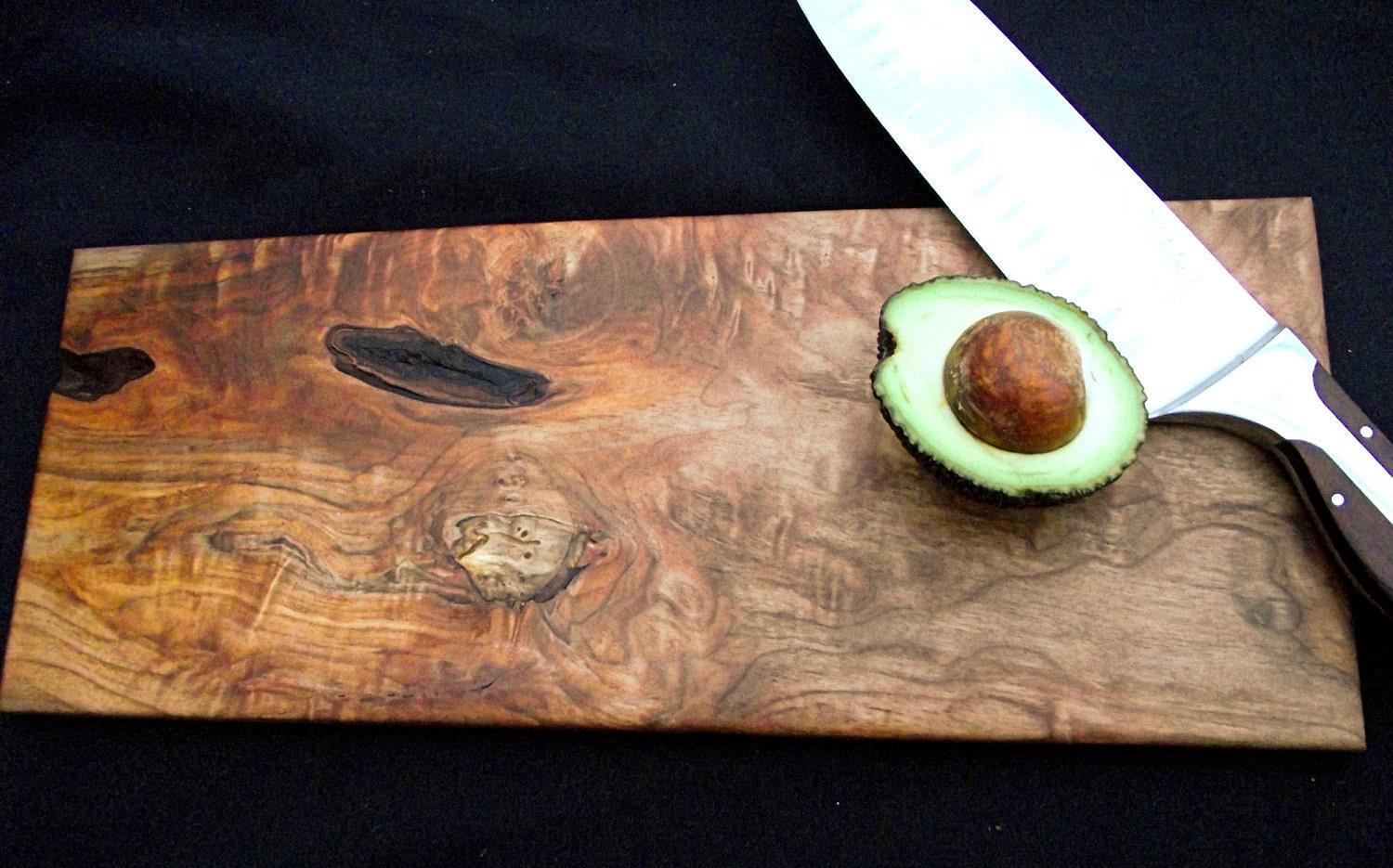 natural rustic wood cutting board ooak by downtoearthwoodworks, Kitchen design