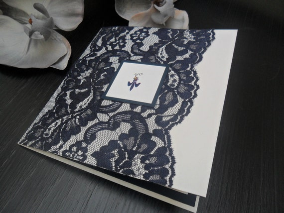 Wedding Invitation Suite - The Luscious Navy