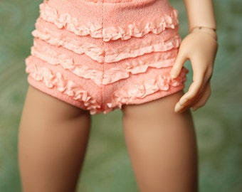 Minifee Retro Apricot Ruffled Underpants For Slim MSD BJD