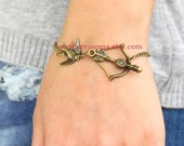 The Hunger Games,  Katniss Bow with Mockingjay bracelet,SALE