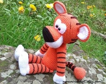 Tiger Walter - amigurumi PDF crochet pattern